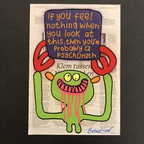 If You Feel Nothing...