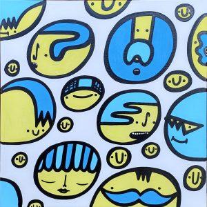 Bubbles, 2021 by Kev Munday